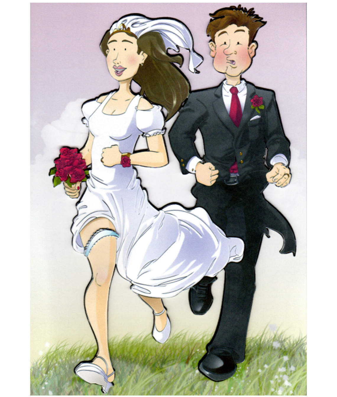 Super Bride And Groom Running Download Free Architecture Designs Scobabritishbridgeorg
